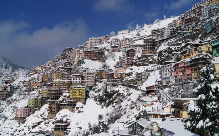 chandigarh to shimla cab rental
