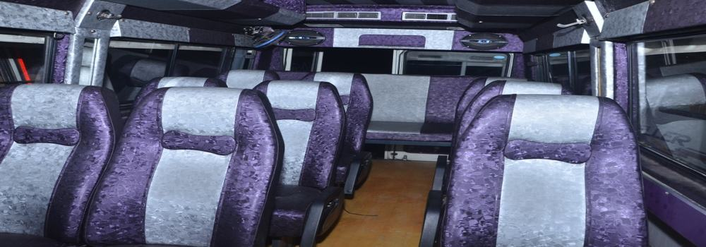 tempo traveller on hire
